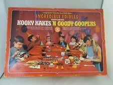 Vintage Mattel Super Incredible Edibles Kooky Kakes 1968 Set