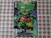 Green Lantern Corps (2011) DC - #1, 1st Print, Tomasi/Pasarin, NM/- (New 52)