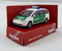 Ford Galaxy Polizei Herpa 042949 1:87 H0 OVP [FS]
