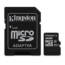 Kingston original micro SD 16GB SDHC tarjeta memoria ZTE Teléfono Móvil clase 10