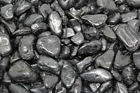 1 lb Bulk Lot Black Tourmaline Tumbled Stone Crystal Healing Tumble Gemstone