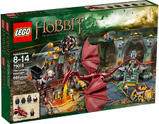 SEALED - NEW - LEGO The Hobbit 79018 The Lonely Mountain w/ Smaug Dragon