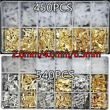 540X Assortment Male Female Spade Crimp Terminals Electrical Wire Connectors Kit