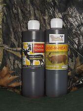 70oz. Mega Rut Special, 35oz.Doe-n-Heat & 35oz. Dominant Buck Urine, Buck Lure