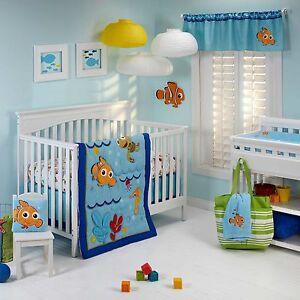 Finding Nemo: Wavy Days 5 Pc. Crib Bedding Set by Disney Baby