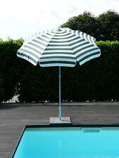 Maffei ombrellone palo centrale Mare Art.72 bianco/verde dralon d.200 cm