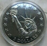 2006 Liberia 5 Dollars - Statue of Liberty