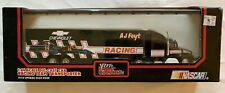 RACING CHAMPIONS 1:64 SCALE. AJ FOYT. RACING TEAM TRANSPORTER NASCAR