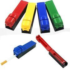 Manual Cigarette Tube Rolling Machine Tobacco Roller Injector Maker Random Color