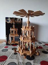 Tchibo Weihnachtspyramide Deko Holz gebraucht OVP