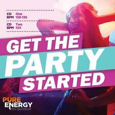 Pure Energy Get The Party Started Aerobics Fitness Music CD