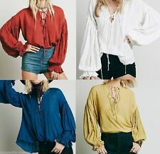 Chiffon Casual Western Tops & Blouses for Women