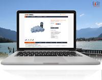 eBay Vorlage 2021 Responsive Auktionsvorlage Template FFT dunkel blau
