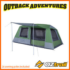 OZtrail SPORTIVA 8 PERSON DOME TENT – 2 ROOM 8P LARGE FAMILY CAMPING TENT