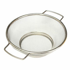Stainless Steel Fine Mesh Strainer Colander Food Rice Vegetable Sifter Sieve YM