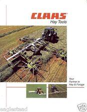 Farm Equipment Brochure - Claas - Hay Tools Disc Mower Conditioner et al (F2959)