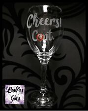 *WARNING* Rude Naughty Funny Swear Word Offensive Adult Explicit Wine Glass Gift