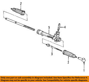 FORD OEM Steering Gear-Outer Tie Rod End F7RZ3A130BB