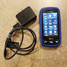 LG-VN270 Cosmos Touch - Black (Verizon) Cell Phone - Blue Trim - Tested Working