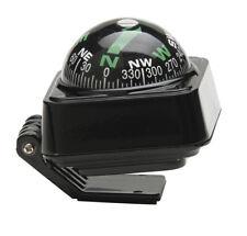 In Car Adjustable Tilting Angle Black Dashboard Interior Compass Floating Travel