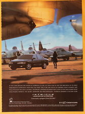Oldsmobile Intrigue  Magazine Print Ad 1999
