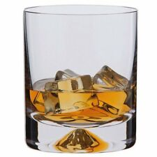 Dartington Crystal Dimple Old Fashioned Tumbler Pair 25cl