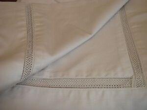 New John Lewis 100% Egyptian Cotton Light Grey Lattice Stitch Single Duvet Cover