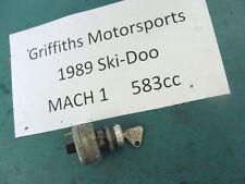 89 90 88 SKI-DOO MACH 1 583 formula OEM IGNITION KEY SWITCH ON OFF 440 Z 340