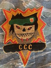 Theater Made Vietnam Special Forces MACV SOG CCC Recon Team STAR BURST Patch