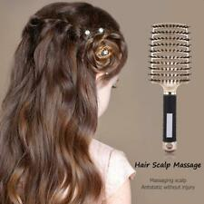 Salon Professional Vent Hair Paddle Brush Anti-Static Styling Scalp Massage Comb