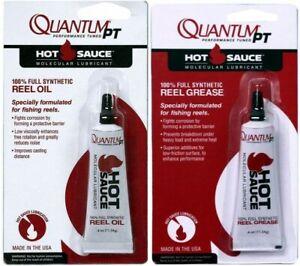 Quantum Hot Sauce Reel Oil & Reel Grease Pack