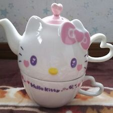 New Hello Kitty Premium Fancy Pink Tea & Cup Kawaii Cute From Japan w/Tracking
