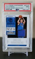 2018-19 Panini Contenders Luka Doncic Rookie Ticket Swatches. PSA 9 Mint. 🔥