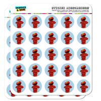 Sesame Street Vintage Elmo Planner Calendar Scrapbooking Crafting Stickers