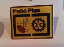 Rotary International Polio Plus pin badge