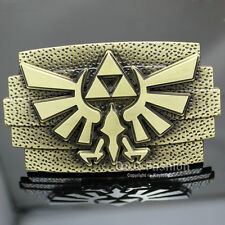 Western Nintendo The Legend of Zelda Twilight Princess Triforce Belt Buckle