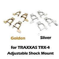Aluminum Front & Rear Adjustable Shock Mount Set For TRAXXAS TRX-4 1/10 RC Car