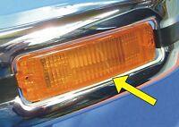 VW Käfer Blinker Orange mit GEHÄUSE für Kasten-Stoßstange      020-446010