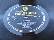 THE BEATLES  ORIGINAL 1965  UK LP  RUBBER SOUL -5 -5  TIMES ROMAN   FONT