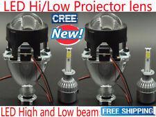 2.5 inch Universal LED Projector lens Car headlight kit Light Bulb Lamp vs Xenon