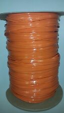 "ORANGE VINYL PVC PIPING WELT WELTING 1/8"" 3mm Yard Yards (pipi012)"