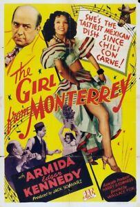 The Girl from Monterrey 1943 Armida, Edgar Kennedy Thriller DVD