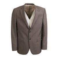 BRUNO SAINT HILAIRE Jacket Grey Wool Blend Size 52 / 42R RRP £380 BW 486