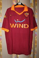 AS ROMA ITALY 2012 2013 HOME FOOTBALL SHIRT JERSEY MAGLIA SIZE XL