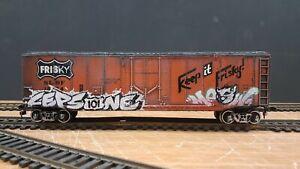 HO TRAINS BURLINGTON SANTA FE BACHMANN ATHEARN RAILBOX BOXCAR FRISCO CEPS