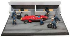 NCB001 MASERATI 250 F German GP 1957 J M Fangio-DIORAMA PIT STOP SET 1/43 Scale