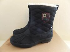 Size 6 UGG Womens Bellegarde Winter Boots Waterproof 1001731 W Black (Youth 4)