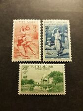TIMBRE FRANCE COLONIE ALGERIE N°346/347/348 NEUF ** LUXE MNH 1957 COTE 29,50€
