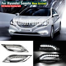LED Daytime Running Light For Hyundai Sonata I45 YF DRL Fog 2011 2012 2013 2014