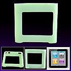 Housse etui coque silicone vert iPod Nano 6 6G + FILM